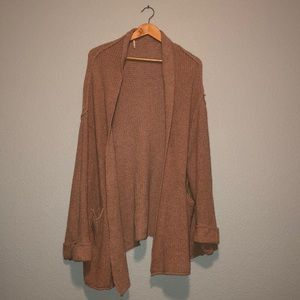 Free people oversized cardigan